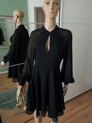 AWARE Sukienka koktajlowa czarny Poliester