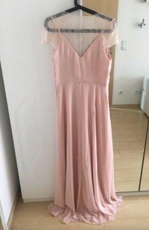 Asos Robe longue or rose