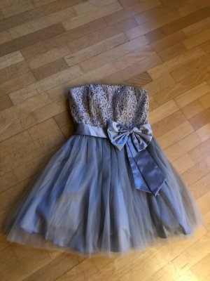 Wunderschönes Laona Kleid in Silber 38/M