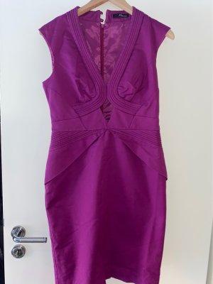 Wunderschönes Lila desingerkleid von Jane Norman 36 neuwertig
