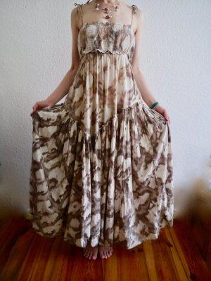 All Saints Maxi-jurk veelkleurig Katoen