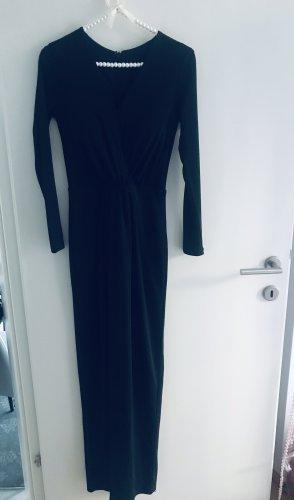 0039 Italy Robe longue noir