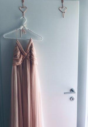 Vero Moda Maxi-jurk rosé-stoffig roze
