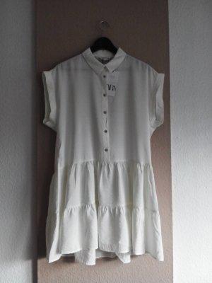 wunderschönes Minikleid in weiss mit Schmuck-Knöpfe, Grösse S, neu
