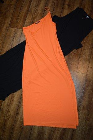Wunderschönes Neon Midi-Kleidchen Gr. 38 von SHEIN