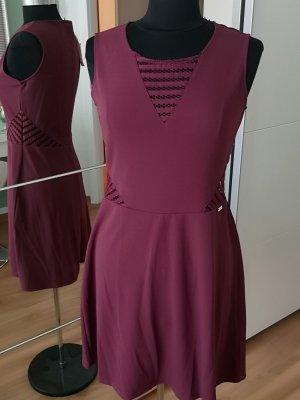 Guess Vestido de Verano burdeos Poliéster
