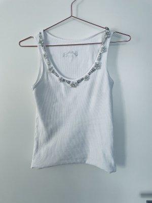 0039 Italy Koszulka basic biały