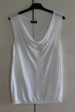 Marchesin Cowl-Neck Top white