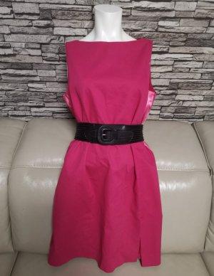 RED Valentino Evening Dress raspberry-red mixture fibre