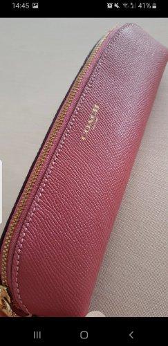 Coach Mini Bag gold-colored-raspberry-red