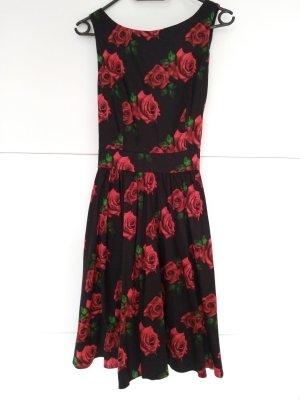 Lady Vintage Petticoat Dress multicolored