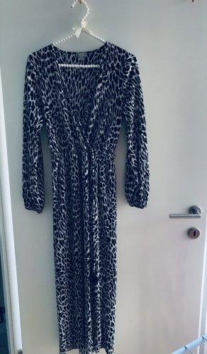Zara Robe longue noir-blanc