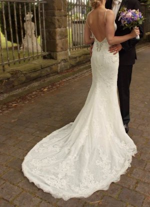 Wunderschönes Pronovias Hochzeitskleid mit Rückenausschnitt