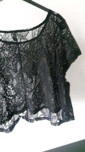 Vero Moda Kanten topje zwart