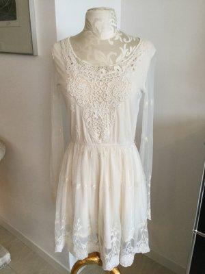 Wunderschönes, romantisches Spitzen Kleid