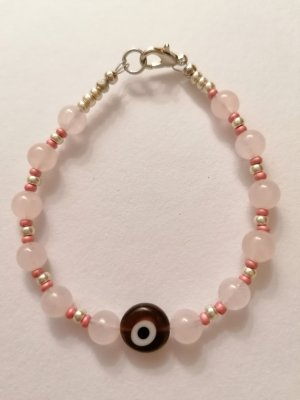 Hand made Pearl Bracelet multicolored