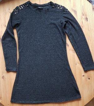 Wunderschönes schwarzes Kleid  Gr. 38 mit Perlen Damenmode