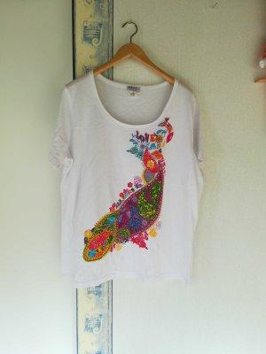 Angel of Style Shirt met print wit