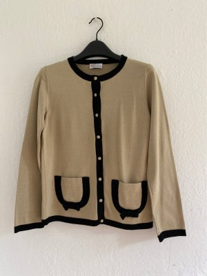 RED Valentino Cardigan black-oatmeal