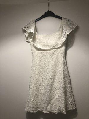 Supertrash Kanten jurk wit