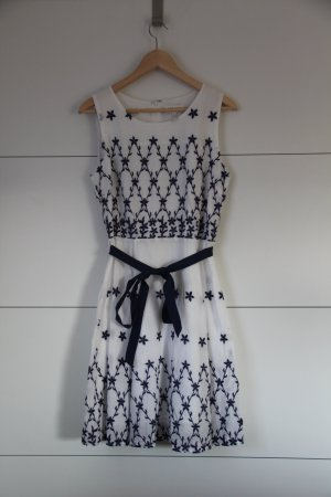 Apricot Pinafore dress white-dark blue