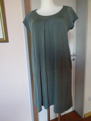 Allude Sukienka z dżerseju szaro-zielony-zielono-szary