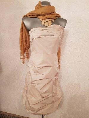 s.Oliver Selection vestido de globo blanco puro-beige claro