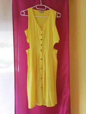 3suisses Vestido cut out amarillo