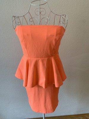 Wunderschönes Sommerkleid in lachsfarben, S