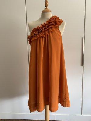 H&M Abito monospalla arancione