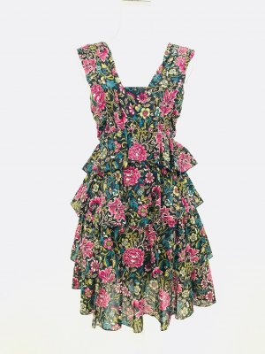 Wunderschönes Sommerkleid von N°21, multicolor, Gr. 34 DE, 40 IT