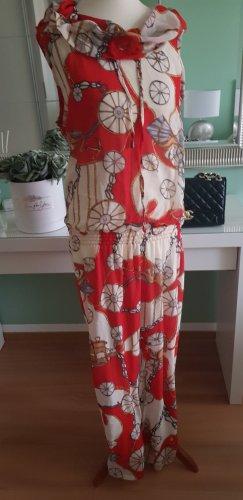 Sukienka z kapturem Wielokolorowy