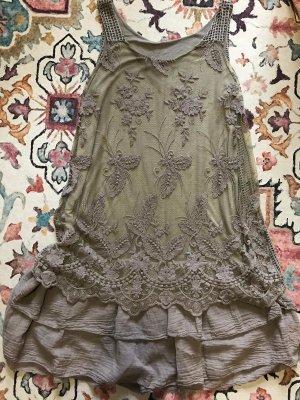 Koronkowa sukienka Wielokolorowy