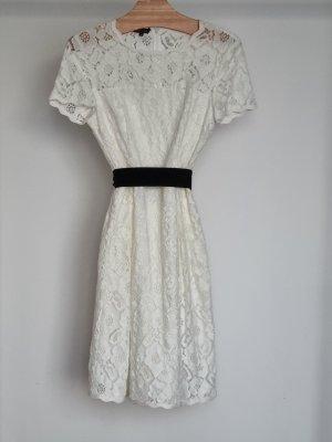 Escada Mini Dress natural white