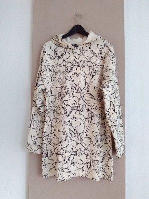 wunderschönes Sweatshirt-Kleid, Disney Bambi, Grösse M, neu