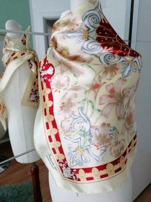 Pierre Balmain Neckerchief cream-bright red polyester