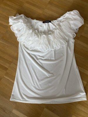 Wunderschönes und edles T-Shirt, tragbar sowohl schulterfrei als auch über den Schultern