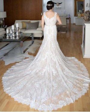 justin alexander Wedding Dress multicolored