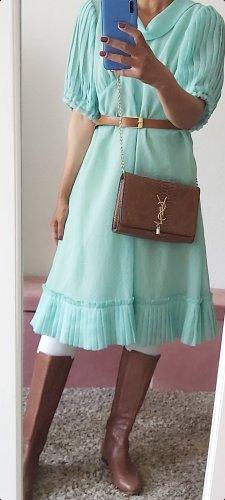 Vintage Midi Dress turquoise