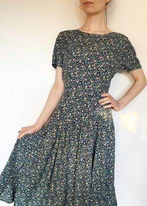 Vintage Vestido largo multicolor