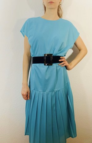 Vintage Flounce Dress light blue-turquoise