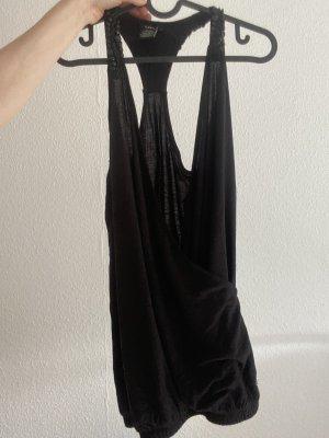 Castro V-Neck Shirt black