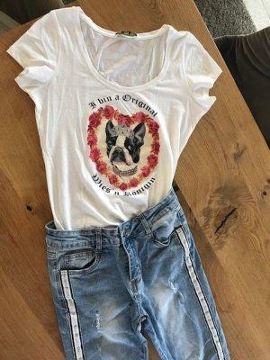 Wunderschönes Wiesn T-Shirt von FTC Cashmere, Gr. S