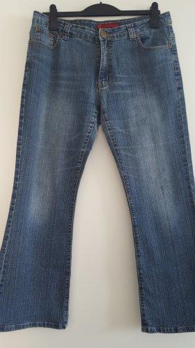 Wundervolle Boot Cut Jeans, Anyway Jeans, blau, Gr. 42