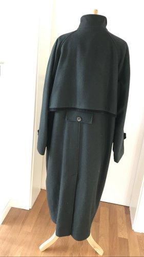 Vintage Wollen jas veelkleurig Wol