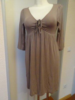 Allude Sukienka z dżerseju szaro-brązowy-beżowy Modal