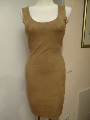 Armani Exchange Sheath Dress beige-camel polyester