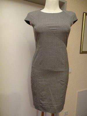 Hugo Boss Midi Dress dark grey-grey cotton