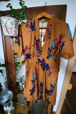 SheIn Babydoll Dress multicolored