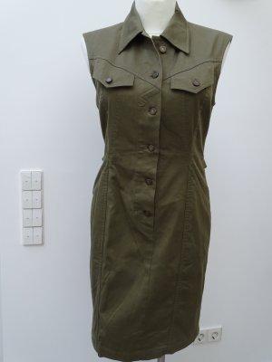 Wundervolles Kleid - STRENESSE - Khaki - GR 38 - neuwertig Letzter Preis!!